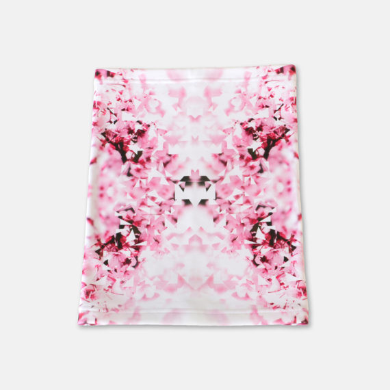 Cherry Blossom Square One Neckwarmer