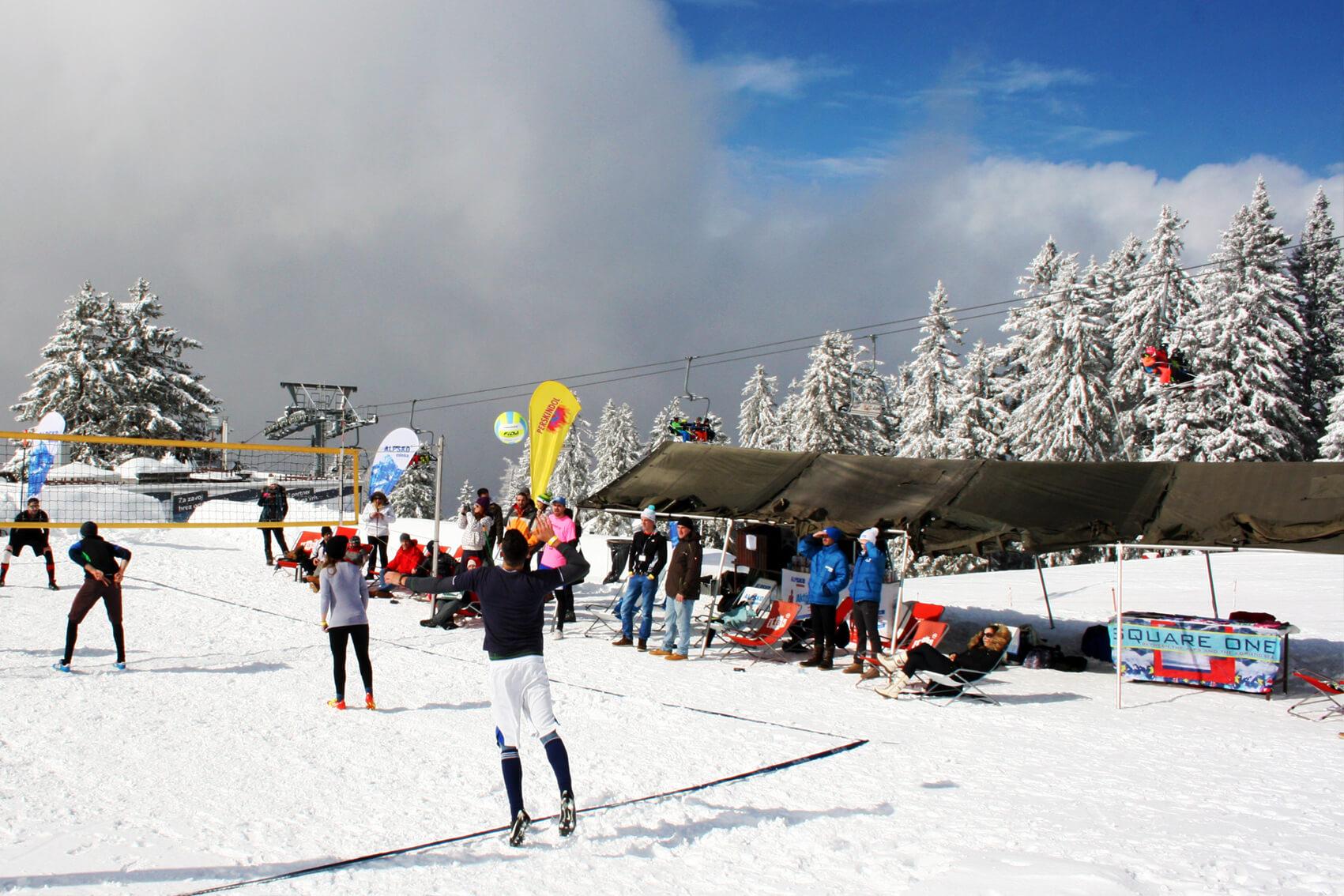 SnowVolley Krvavec 2016