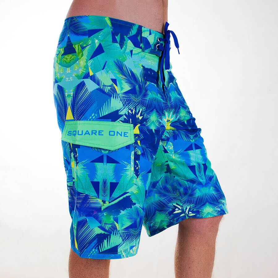 Square One Boardshorts - Side